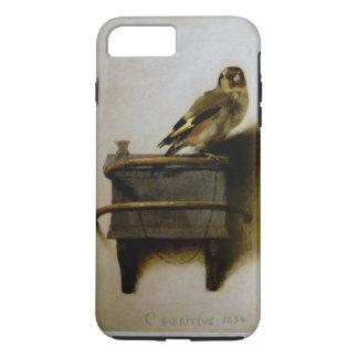 Carel Fabritius Goldfinchのヴィンテージのファインアート iPhone 8 Plus/7 Plusケース