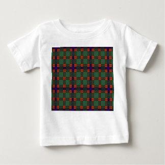 Caristonの一族の格子縞のスコットランドのキルトのタータンチェック ベビーTシャツ