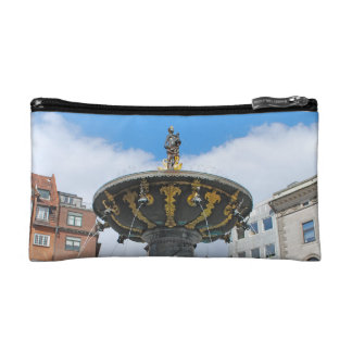 Caritas健康なコペンハーゲンデンマーク コスメティックバッグ