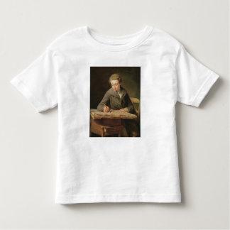 Carle Vernet 1772年、若いdraughtsman トドラーTシャツ