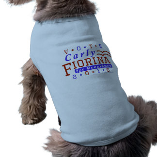 Carly Fiorinaの大統領2016年の選挙の共和党員 ペット服