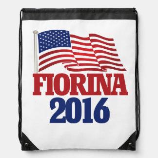 Carly Fiorina 2016の共和党員 ナップサック