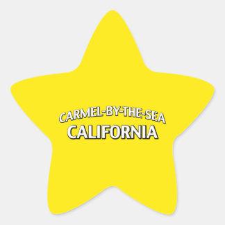 Carmelによ海カリフォルニア 星シール