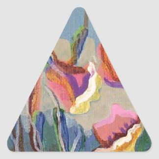 Carmelの庭#86 三角形シール
