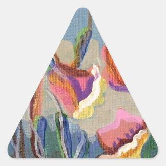 Carmelの庭#86 三角形シール・ステッカー