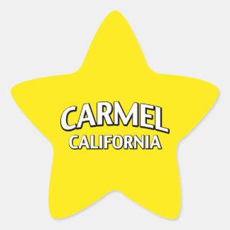 Carmelカリフォルニア 星型シール
