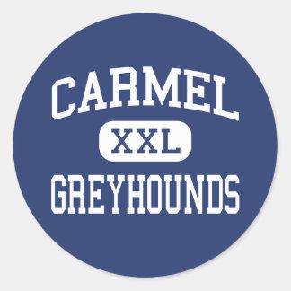 Carmel -グレイハウンド-高等学校- Carmelインディアナ ラウンドシール