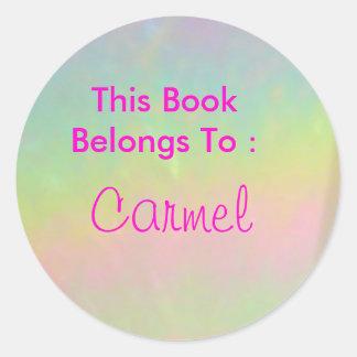 Carmel 丸型シール