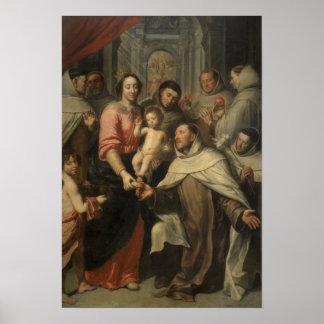 Carmelitesのヴァージン ポスター