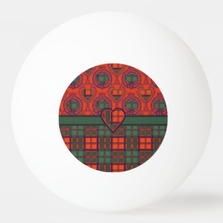 Carmichaelの一族の格子縞のスコットランドのキルトのタータンチェック 卓球ボール