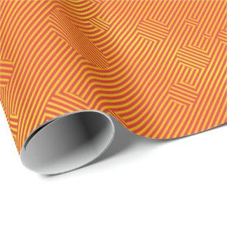 Carnabyのオレンジ ラッピングペーパー