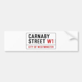 Carnabyの通り バンパーステッカー