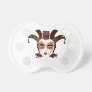 Carnivaleの赤いベニス風のマスク おしゃぶり