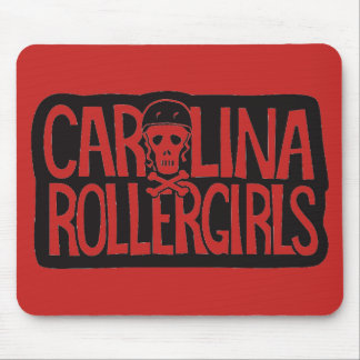 Carolina Rollergirls mouse pad マウスパッド