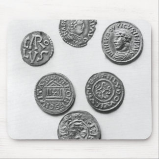 Carolingianの8つの硬貨 マウスパッド