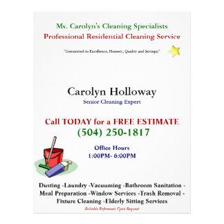 Carolyn|Holloway|サンプル|フライヤクリーニング|サービス