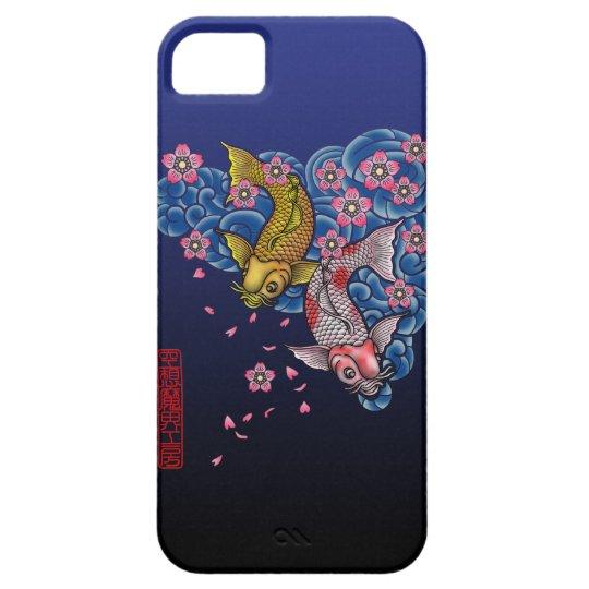 Carp sakura iPhone SE/5/5s ケース