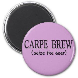 CARPEの醸造物   (ビールを握って下さい) マグネット