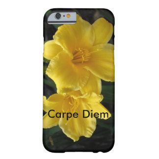 Carpeのdiemとの花柄 Barely There iPhone 6 ケース