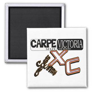 CARPEビクトリア-勝利を握って下さい-クロス・カントリー マグネット