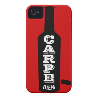 Carpe Diemのワイン愛好家 Case-Mate iPhone 4 ケース