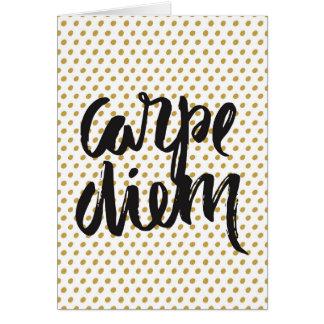 Carpe Diemの挨拶状 カード