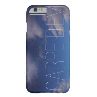Carpe Diemの携帯電話の箱の銀河系の空のグラデーションな雲 Barely There iPhone 6 ケース