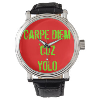 Carpe Diemの「cuzのYOLOの腕時計 腕時計