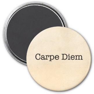 Carpe Diemは日の引用文-引用文--を握ります マグネット