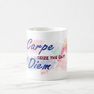 Carpe Diem -コーヒー・マグ コーヒーマグカップ