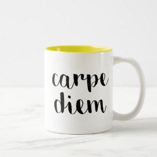 Carpe Diem ツートーンマグカップ