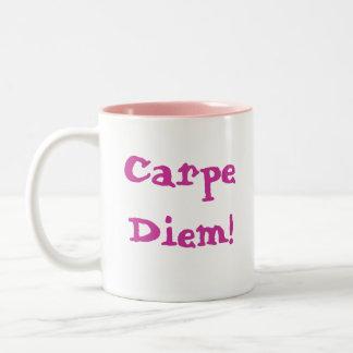 Carpe Diem! ツートーンマグカップ