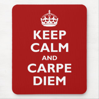 Carpe Diem! マウスパッド