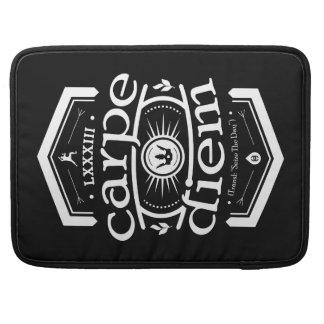 Carpe Diem - Macbookのプロ袖-黒 MacBook Proスリーブ
