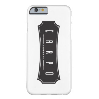 CarpoのコーヒーiPhone6ケース Barely There iPhone 6 ケース
