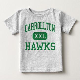 Carrollton -タカ-高Carrolltonイリノイ ベビーTシャツ