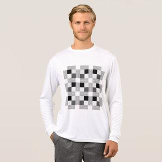 Carta/人のスポーツTekの競争相手の長袖 Tシャツ