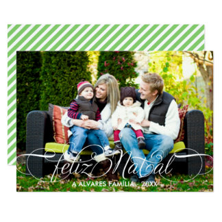 Cartão Feliz出生のFoto | Branco Fonteの原稿 カード