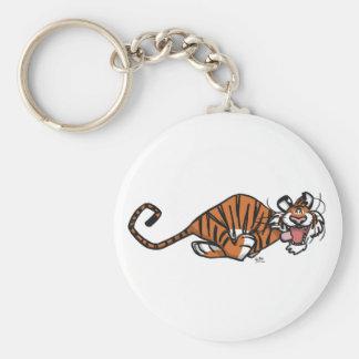 Cartoon Running Tiger キーホルダー