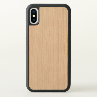 Carved Apple iPhone X Bumper Wood Case iPhone X ケース
