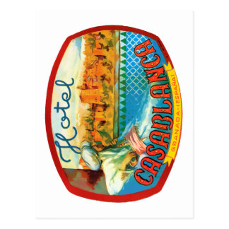 CasablancaHotel ポストカード