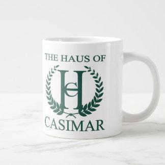 CasimarのジャンボマグのHaus ジャンボコーヒーマグカップ