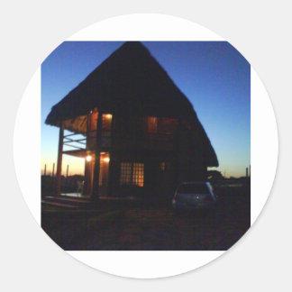 casinha dosのsonhos… ラウンドシール
