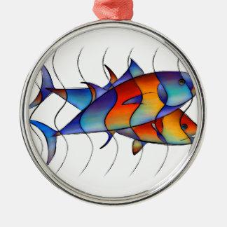 Cassanella -夢の魚 メタルオーナメント