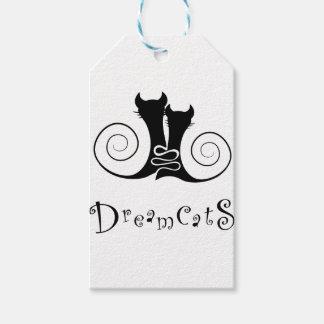 Casseminia -文字が付いているdreamcats ギフトタグ