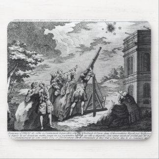 Cassiniが1759年に観察するHalleyの彗星III マウスパッド