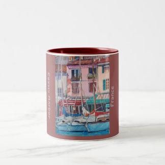 Cassis港-マグ ツートーンマグカップ
