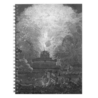 Castel S.アンジェロのデザインの風車… ノートブック