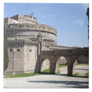 Castel Sant'Angeloはバチカン、2の近くに置かれます タイル