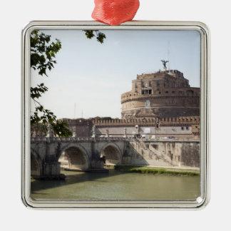 Castel Sant'Angeloはバチカン、4の近くに置かれます メタルオーナメント